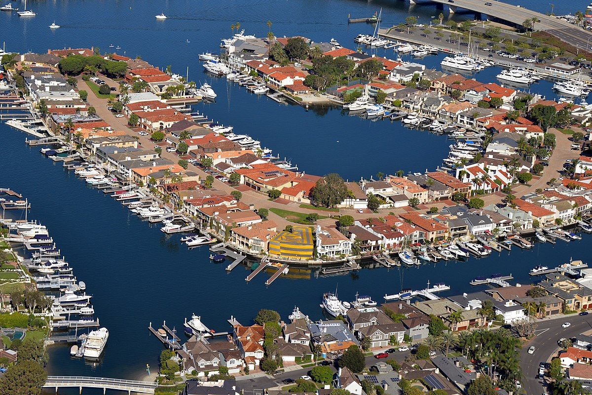 Linda Isle, Newport Beach