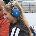 Lindy Thackston 2009 Indy 500 Pole Day.JPG