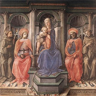 Novitiate Altarpiece Painting by Filippo Lippi