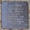 Stolperstein für Lisa Menco