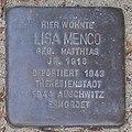 Lisa Menco - Ilandkoppel 68 (Hamburg-Ohlsdorf).Stolperstein.crop.ajb.jpg