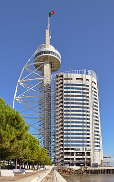 Lisbon - Vasco da Gama tower.jpg