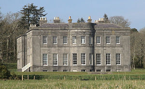 Anglo-Irish big house - Lissadell House, the former home of the Gore-Booth baronets.