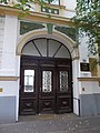 Listed building, portal, Nagykőrösi Street, Bethlenváros, 2016 Hungary.jpg