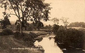 Newfield, Maine - Little Ossipee River c. 1915