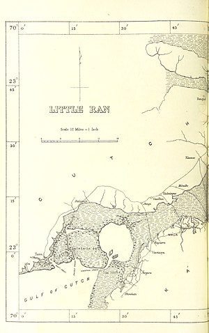 Little Rann of Kutch - Little Rann of Kutch West Part 1896