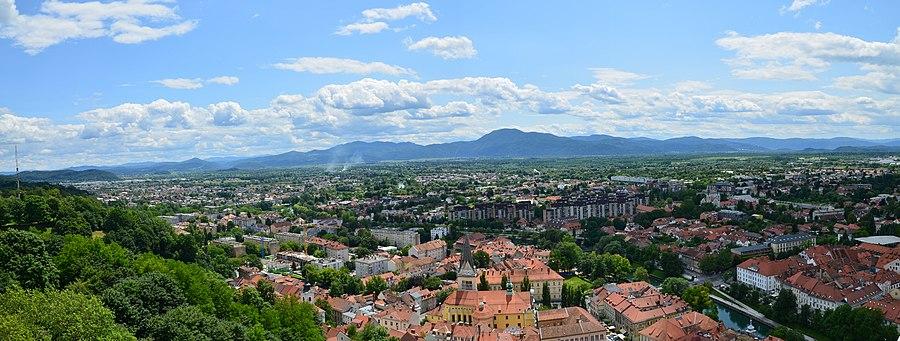 Ljubljana Ljubljanski Grad-Ljubljana Castle - jug south