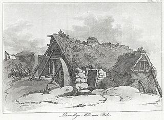 Llanuchlyn Mill near Bala