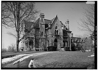 Ezra Cornell - Llenroc, home of Ezra Cornell