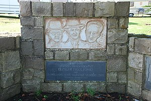 Saunders Lewis - Image: Llosgi'r Ysgol Fomio The Burning of the Bombing School geograph.org.uk 356846