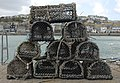 Lobster pots on Smeaton's Pier - geograph.org.uk - 272206.jpg