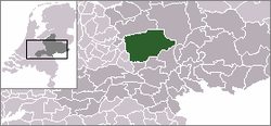 Location of Ede
