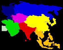 Politische Karte Asien.Asien Wikipedia
