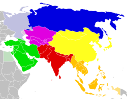 Map Of Countries In Asia.Southeast Asia Wikipedia