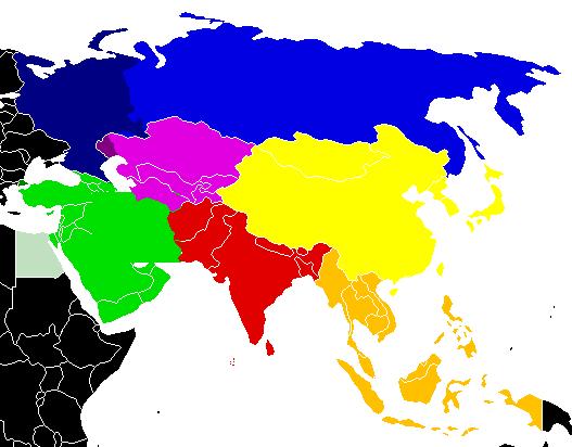 Location-Asia-UNsubregions