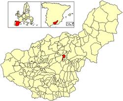 Vị trí của Cortes y Graena