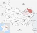 Locator map of Arrondissement Lure 2019.png