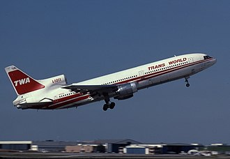 St. Louis Lambert International Airport - TWA L-1011 at Lambert