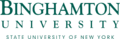 Logo of Binghamton University, State University of New York Transparent.png