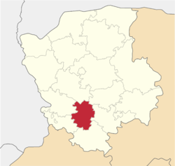 Location of Lokaču rajons