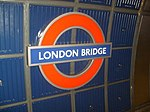London Bridge Roundel in 2008.jpg