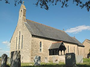 Long Hanborough - Image: Long Hanborough Christ Church southwest