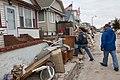 Long Beach, N.Y., Nov. 19, 2012 -- A FEMA Community Relations team canvases a Long Island neighborhood checking on Hurricane Sandy survivors. The team walked door to door to ensure - DPLA - e02af0a40573c6e1142f1c9f6ec36407.jpg