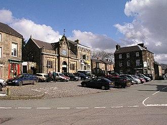 Longnor, Staffordshire - Image: Longnor geograph.org.uk 22704