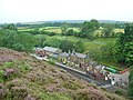 Looking down on Goathland station - geograph.org.uk - 925695.jpg