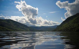 Lough Dan - Image: Lough Dan reflections (27765469)