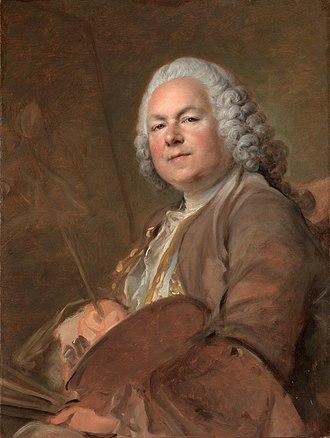 Jean-Marc Nattier - Image: Louis Tocqué, Jean Marc Nattier (1740s)
