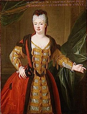 Louise Adélaïde de Bourbon (1696–1750) - Portrait by Pierre Gobert