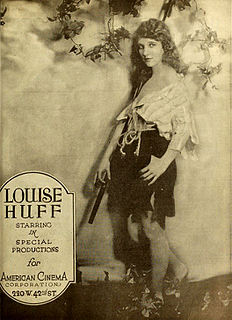 Louise Huff American actress