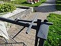 Loukov (Háje), nový hřbitov, zavírání bočních vrátek.jpg