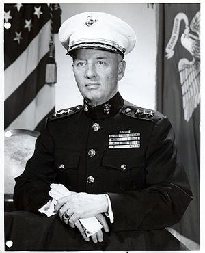 Alpha L. Bowser - Lieutenant General Alpha L. Bowser, USMC