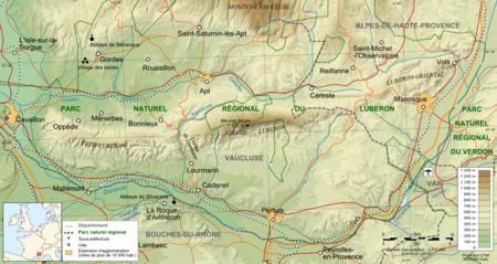 Le Territoire Du Parc Naturel Rgional Luberon