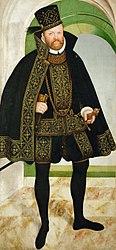 Lucas Cranach der Jüngere: Kurfürst August von Sachsen (1526-1586)