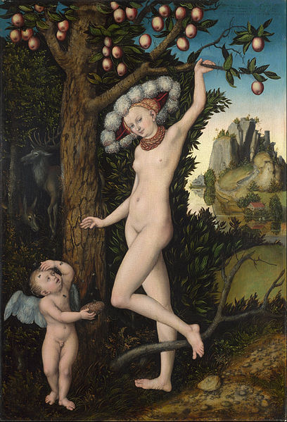 File:Lucas Cranach the Elder - Cupid complaining to Venus - Google Art Project (331362).jpg