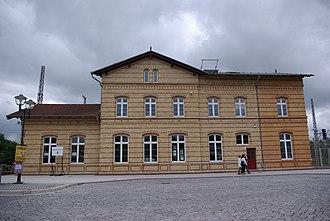 Ludwigsfelde station - Ludwigsfelde railway station