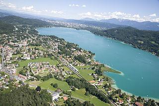 Krumpendorf Place in Carinthia, Austria