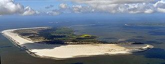 Amrum - Aerial view of Amrum