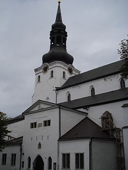 Lutheran Cathedral in Tallinn.JPG