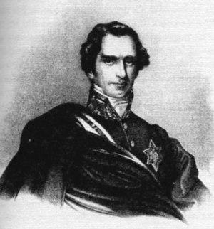 Rienzi - Baron von Lüttichau (1786–1863), General Director of the Dresden Opera House from 1824