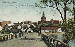 Lyck, Ostpreußen - Stadtansicht Schaar & Dathe, Komm.-Ges. a. Akt., Trier / Public domain