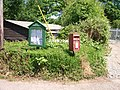 Lyng Parish notice board and post box - geograph.org.uk - 1335869.jpg
