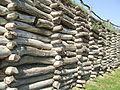 Mór Obronny Biskuopina od strony osady.jpg