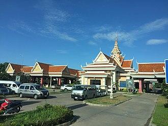 Svay Rieng Province - Image: Mộc Bài, Lợi Thuận, Bến Cầu, Tây Ninh Province, Vietnam panoramio