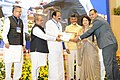 M. Venkaiah Naidu rewarded with performance incentive for promoting urban reforms under Atal Mission for Rejuvenation and Urban Transformation (AMRUT) during 2015-16, at a function, in New Delhi (1).jpg