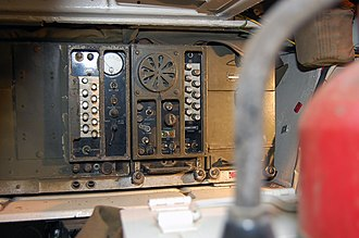 M8 Greyhound - Radio inside an M8