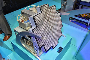 Zhuk (radar) - Picture of FGA-35(3D) shown at MAKS 2013 (was relabeled as FGA-35)